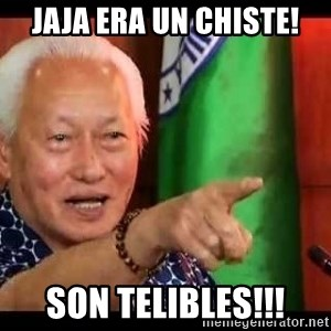 Mayor Lim Meme - jaja era un chiste! son telibles!!!