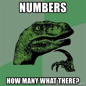 Raptor - Numbers How many what there?