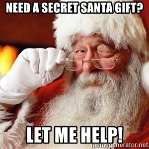 Capitalist Santa - Need a Secret Santa Gift? Let me Help!