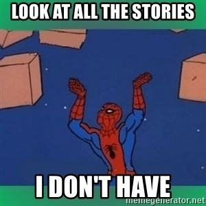 60's spiderman - LOOK AT ALL THE STORIES I DON't HAVE