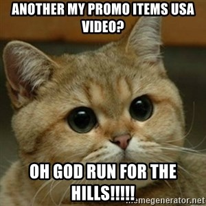Do you think this is a motherfucking game? - Another my promo items usa video? OH GOd run for the hills!!!!!