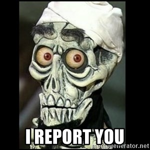 Achmed the dead terrorist - i report you