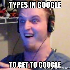 Brony Mike - Types in google  To get to google