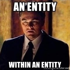 inception - AN ENTITY  WITHIN AN ENTITY