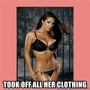 Hot Girl - Took off all her clothing