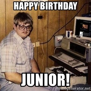 Nerd - Happy Birthday Junior!