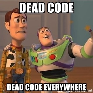 Anonymous, Anonymous Everywhere - dead code dead code everywhere