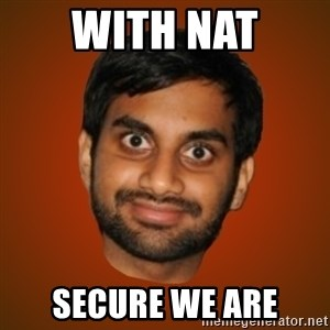 Generic Indian Guy - WIth nAT SecurE we are