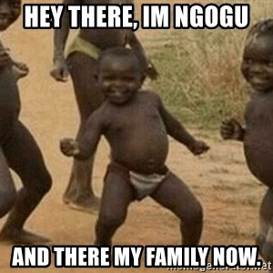 Success African Kid - Hey there, im NGogu And there my family now.