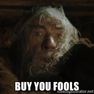 gandalf run you fools closeup - Buy you fools