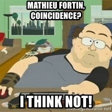 South Park Wow Guy - Mathieu fortin, coincidence? I think not!