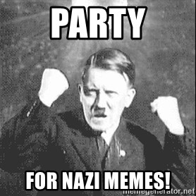Disco Hitler - party for nazi memes!