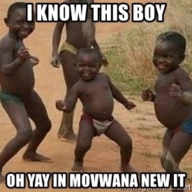 african children dancing - i know this boy oh yay in movwana new it