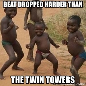 Dancing African Kid - beat dropped harder than the twin towers