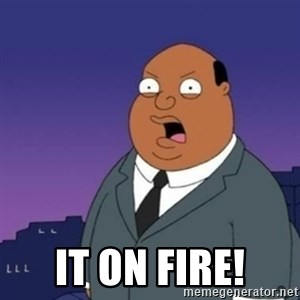 Ollie the Weatherman - IT ON FIRE!