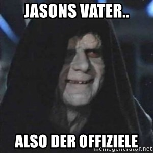 Sith Lord - jasons Vater.. also der OFFIZIELE