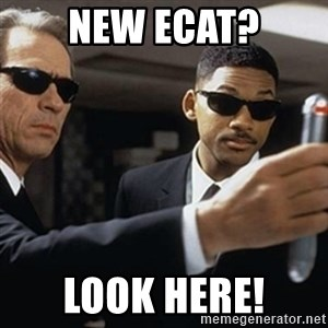 men in black - New Ecat? Look here!