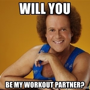Gay Richard Simmons - Will you be my workout partner?