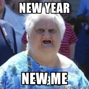 Fat Woman Wat - New year New me