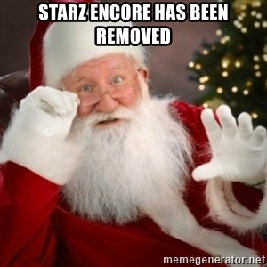 Santa claus - Starz Encore has been removed