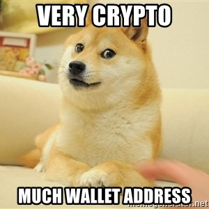 so doge - Very crypto much wallet address