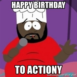 South Park Chef - Happy Birthday to Actiony