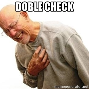 Old Man Heart Attack - doble check