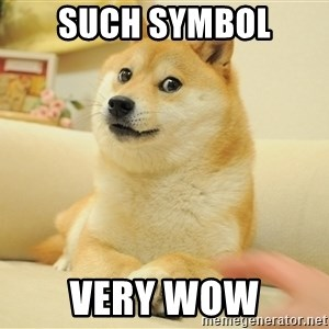 so doge - Such Symbol Very Wow