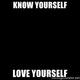 Blank Black - Know Yourself Love Yourself