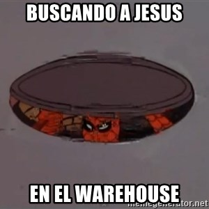 Spiderman in Sewer - Buscando a jesus En el warehouse