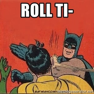 batman slap robin - ROLL TI-
