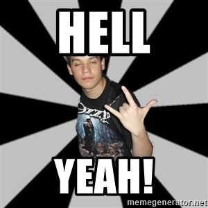 Metal Boy From Hell - hell yeah!