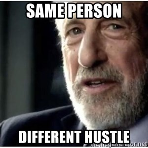 mens wearhouse - same person different hustle