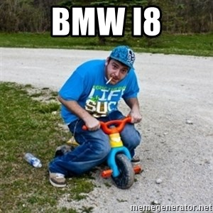 Thug Life on a Trike - Bmw i8