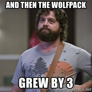 Alan Hangover - AND THEN THE WOLFPACK GREW BY 3