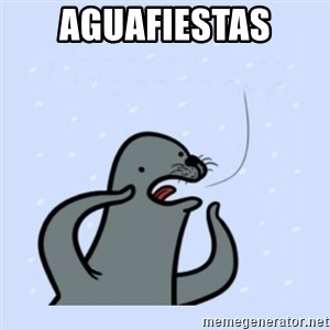 gay seal - Aguafiestas