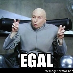 dr. evil quotation marks - Egal