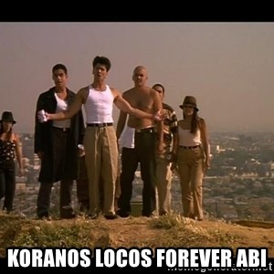 Blood in blood out - Koranos Locos Forever Abi