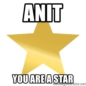Gold Star Jimmy - Anit You are a Star
