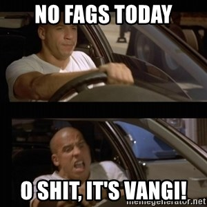 Vin Diesel Car - No fags today O shit, it's vangi!