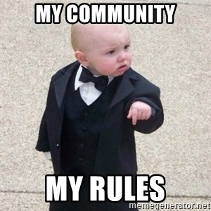 Mafia Baby - my community my rules