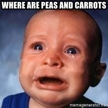 Very Sad Kid - Where are peas and carrots