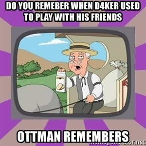 Pepperidge Farm Remembers FG - Do you remeber when D4ker used to play with his friends Ottman remembers