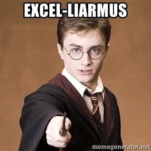 Advice Harry Potter - EXCEl-LiARMUS