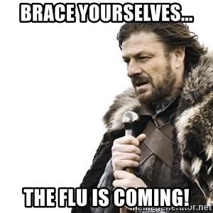 Winter is Coming - Brace yourselves... the flu is coming!