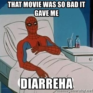 Cancer Spiderman - That movie was so bad it gave me Diarreha