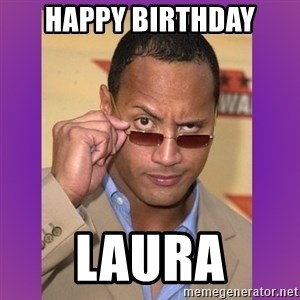 The Rock Cooking - Happy Birthday Laura