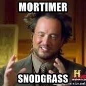 Georgio from Ancient Aliens - Mortimer Snodgrass
