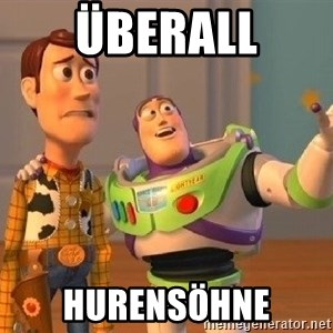 Consequences Toy Story - Überall Hurensöhne