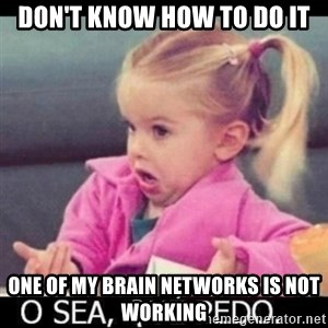O SEA,QUÉ PEDO MEM - don't know how to do it one of my brain networks is not working
